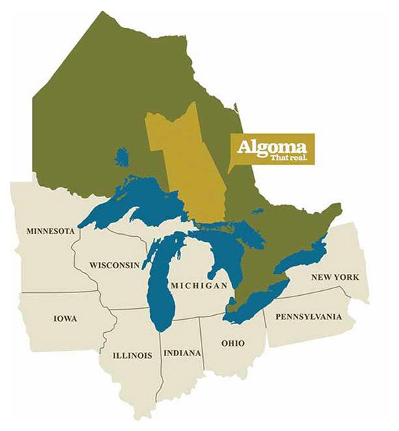 Algoma map