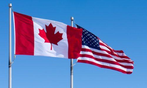 USA & Canada Flag_tile
